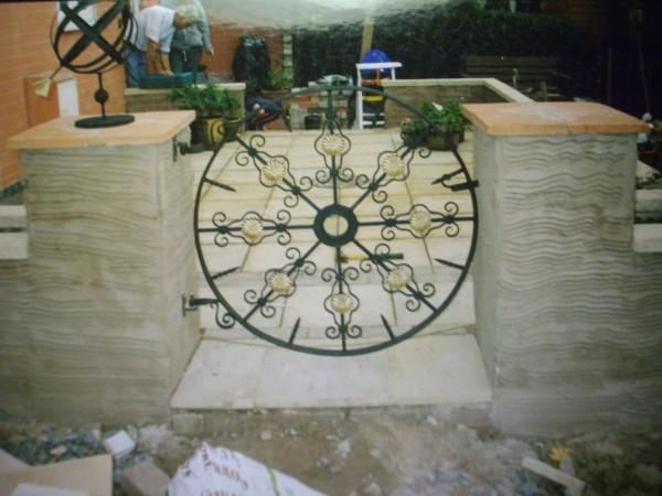 Ornate Round Gate