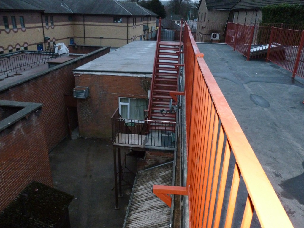Industrial Stairs and Railings / Balcony