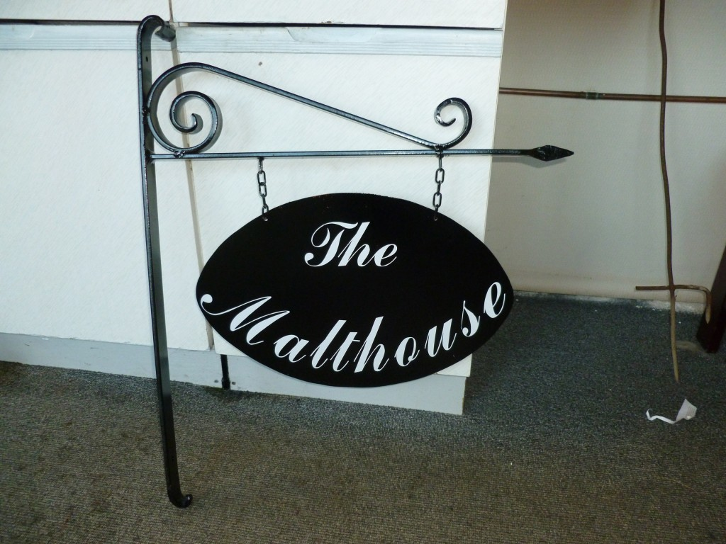 Swinging House Sign for The Malthouse